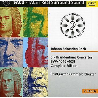 J.S. Bach - Johann Sebastian Bach: Six Brandenburg Concertos Bwv 1046-1051 Complete Edition [SACD] USA import