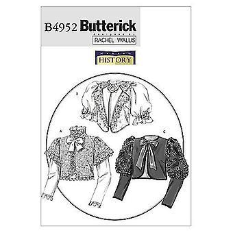 Butterick نمط الخياطة 4952 يفتقد سترة التاريخية زي حجم 6-12 Uncut