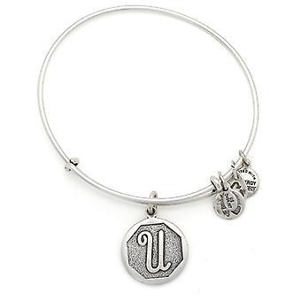 Alex and Ani Initial Expandable Wire Bangle Bracelet - A13EB14US