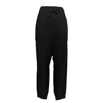 Cuddl Duds Women's Petite Pants Comfortwear Length Jogger Black A381715