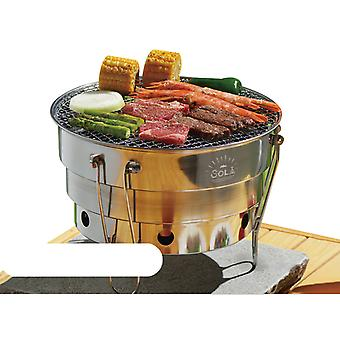 Stainless Steel Folding Barbecue Grill Carbongrill Mini Grill Barbecue Grill Picnic Portable