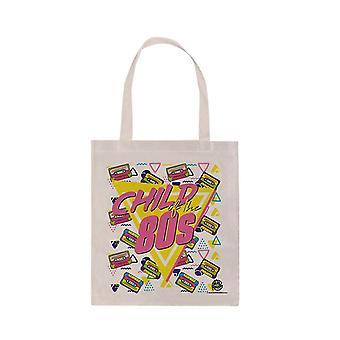 Retro Child of the 80's Canvas Tote Bag
