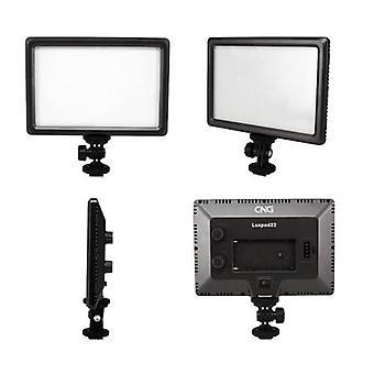 Luxpad22 Pro Ultra Thin 112-LED 11W Video Light Pad for Canon Nikon DSLR Camera DV Camcorder