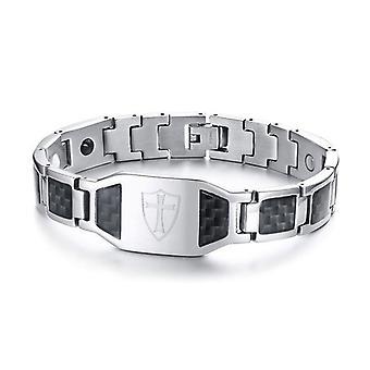 Module Carbon Fiber Magnetic Bracelet