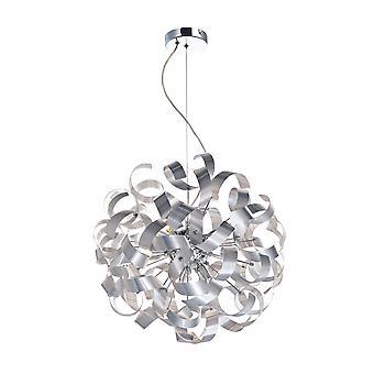 Dar Rawley esférica cinta colgante luz, 9x G9