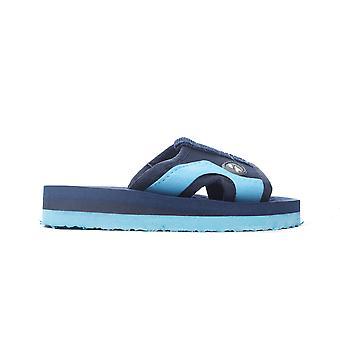 Trespass Numskull Kleinkind Junior Kinder Jungen Flip Flop Sandale Slide Navy Blau