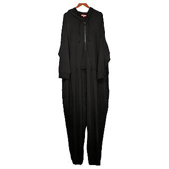 All Worthy Hunter McGrady Petite Jumpsuits Knit Black A391701