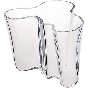 FengChun Vase Aalto 160 mm Klar aus Glas