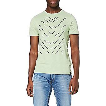Garcia M01001 T-Shirt, Green (Hill Green 3020), Small Man