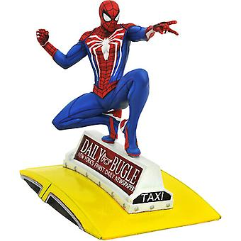 Marvel Gallery Ps4 Spider-Man On Taxi Statue USA import