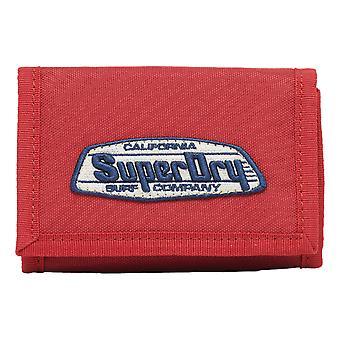 Superdry Cali Velcro Wallet - Cali Rouge