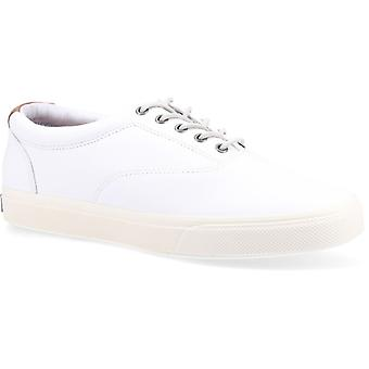 Sperry Striper Plushwave Cvo Mens Leather Trainers White