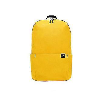 イエローオリジナル10lバックパックバッグ女性スポーツバッグレベル4撥水旅行キャンプバックバッグミニスクールバッグdt383