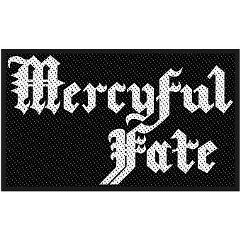 Mercyful Fate - Logo Standard Patch