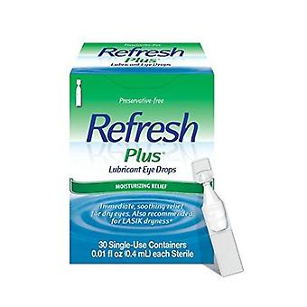 A&Z Pharmaceutical Refresh Plus Lubricant Eye Drops Single-Use Containers, 30 ct