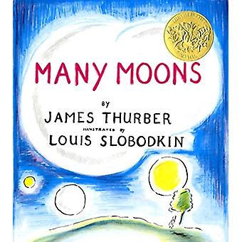 Many Moons by James Thurber & Illustrated by Louis Slobodkin