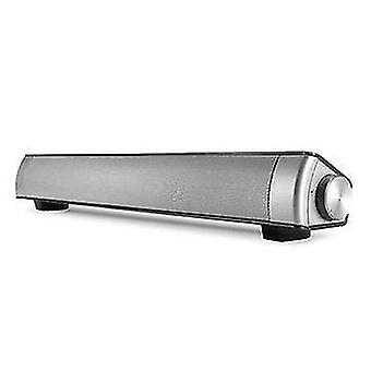 Trådløs bluetooth-højttaler To enheder Stereo Soundbar TF-kort Aux-in håndfri