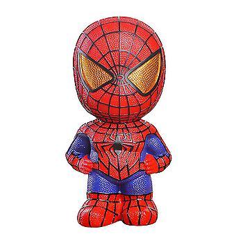 Spider-man Cartoon Piggy Bank Avengers Vinyl Money Box