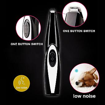 Pet Grooming Tool Electrical Shearing Cutter USB Rechargeable  Haircut Paw Shaver Clipper(Style 1)