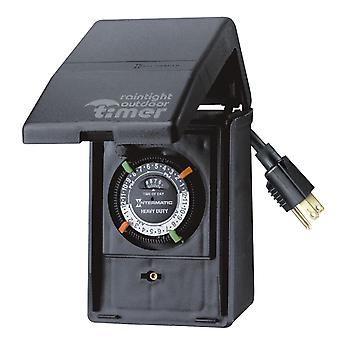 Intermatic P1121 Portable 15 Amp Outdoor Timer & Heavy-Duty Outdoor Timer