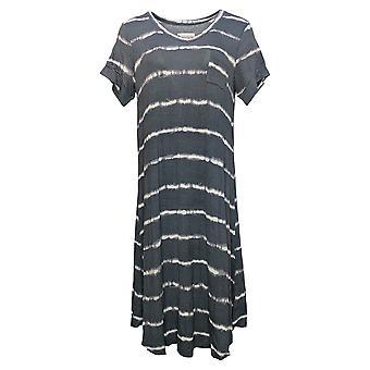 Koolaburra par UGG Dress Stretch Modal V-Neck T-Shirt Lounge Gray A392912