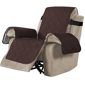 100% Waterproof recliner sofa covers couch slipcovers, brown