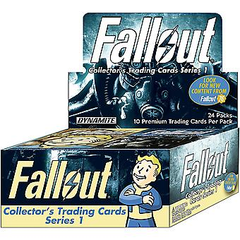 Fallout Trading Cards Series Counter Top Display (enthält 24 Packs)