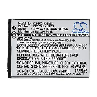 Cameron Sino Px1733Mc Battery Replacement For Toshiba Camera