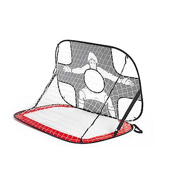 Mini Soccer Goal Portable Football Target Net With Carry Bag Outdoor Garden Game Kids Sport Toy Gift