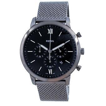 Fossil Neutra Chronograph Stainless Steel Quartz Fs5699 Men's Watch