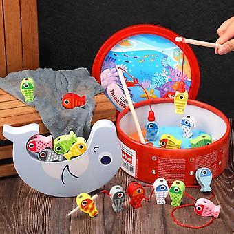 3 طرق للألعاب التوازن Jenga / سلسلة من حبل / المغناطيسي صيد الأسماك هدية الطفل 