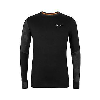 Salewa Cristallo Warm Amr 282050910 universell hele året menn t-skjorte