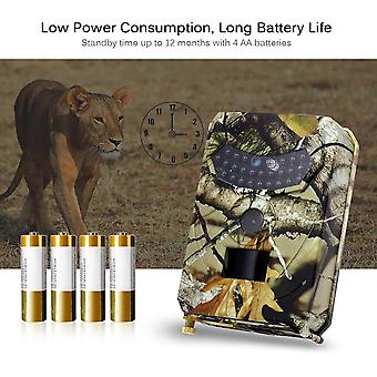 Hunting Camera Photo Trap 12mp Wildlife Trail Night Vision Trail Thermal Imager Video Cameras For Scouting Game Camera