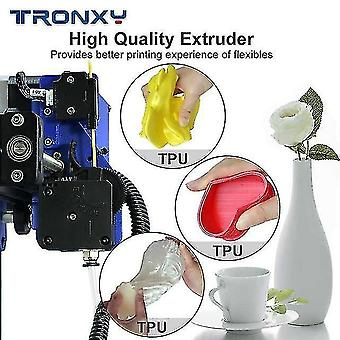 3D printers upgraded tronxy xy-2 pro fast assembly 3d printer auto leveling continuation print power