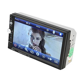 7023b Cars 2 Din Dvd Player 7 Inch Touch Scrren Media Radio Mp5 Player