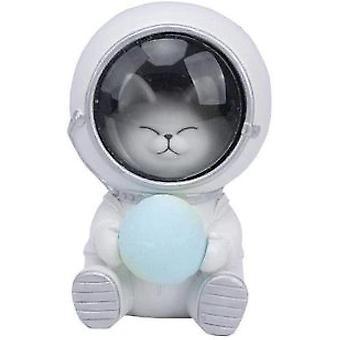 Nachtlicht Sternenhimmel Tierform Astronaut Nacht Licht-Haus Kitty Dekoration