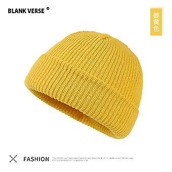 חורף חם מלון עור כובע סרוג כובע גברים ונשים זוג כובעים