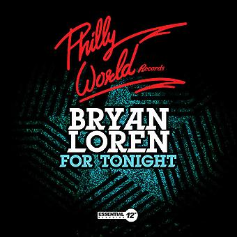 Bryan Loren - voor vanavond USA import