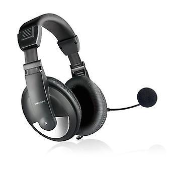 SPEEDLINK thebe set cu cască stereo negru (SL-8743-BK)