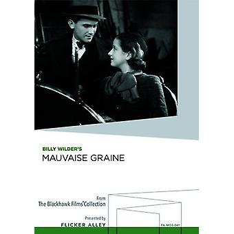 Mauvaise Graine [DVD] USA import