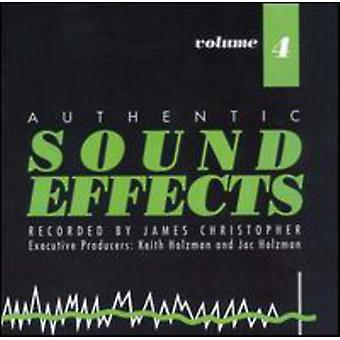Sound Effects - Sound Effects: Vol. 4 [CD] USA import