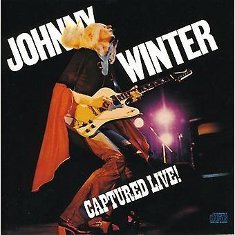 Johnny Winter - fångade Live [CD] USA import