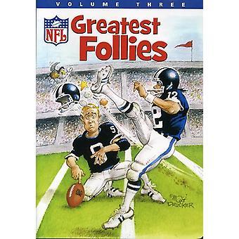 Vol. 3-NFL Greatest Follies [DVD] USA import