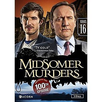Midsomerin murhat: Sarja 16 [DVD] Yhdysvallat tuoda