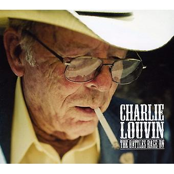 Charlie Louvin - Battles Rage on [CD] USA import