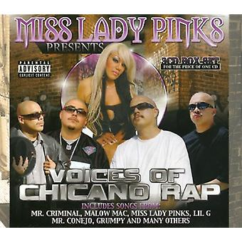 Miss Lady Pinks Presents - Voices of Chicano Rap [CD] USA import
