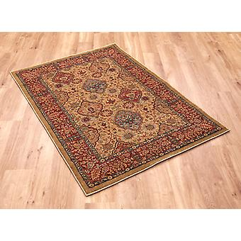 Ziegler 355 Beige Red  Rectangle Rugs Traditional Rugs