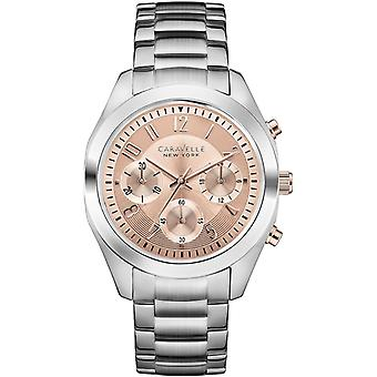 Caravelle New York Melissa Ladies' Chronograph Watch 45L 143