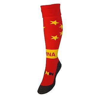 China país Hingly meias (vermelho)