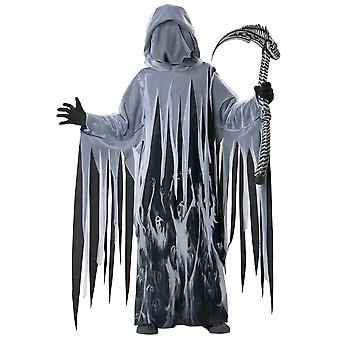 Soul Taker Grim Reaper Ghost Spirit Death Horror Halloween Boys Costume